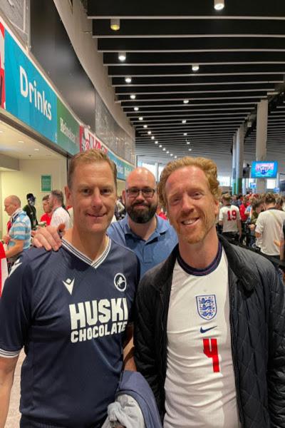Euro 2020 – England v Denmark & Italy